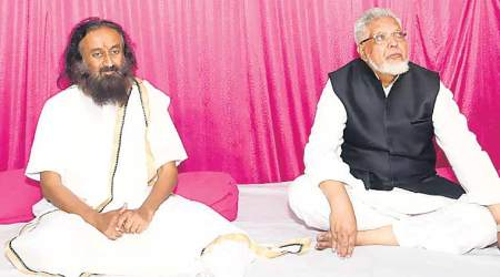 Grand temple is the only solution in Ayodhya: Sri Sri Ravi Shankar