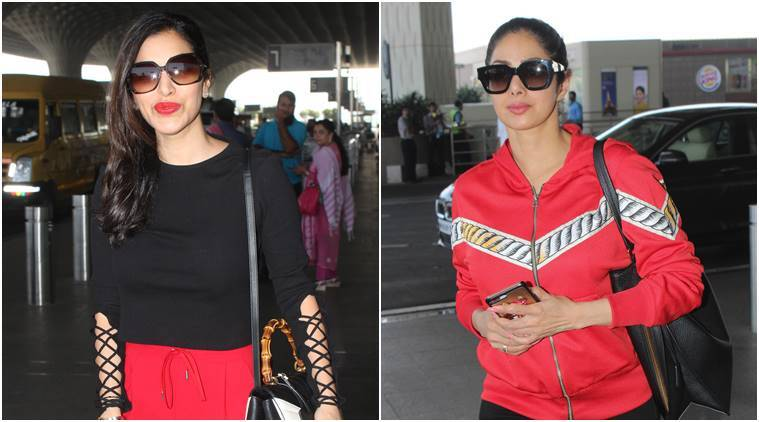 sridevi, sophie choudry, sridevi fashion, sophie choudry fashion, sridevi news, sophie choudry news, sridevi latest photos, sophie choudry latest photos, sridevi style, sophie choudry style, celeb fashion, bollywood fashion, indian express, indian express news