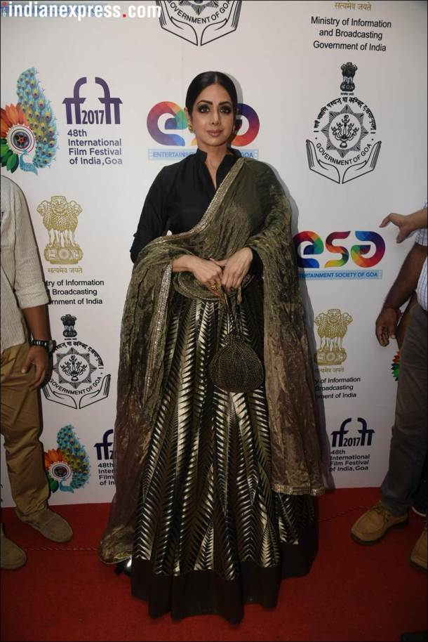 sridevi at IFFI 2017 goa