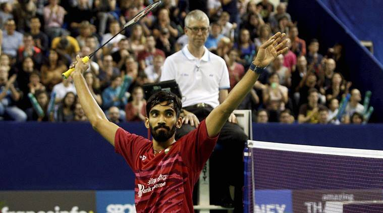 Kidambi Srikanth, Srikanth, Denmark Open, French Open, World badminton ranking, BWF rankings, India Badminton, Indian express