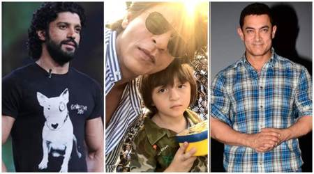 As Shah Rukh Khan turns 52, son AbRam, Aamir Khan, Farhan Akhtar and others wish the superstar