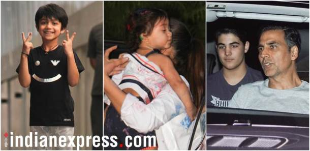 star kids, bollywood star kids, akshay kumar aarav bhatia,misha shahid kapoor, viaan photos