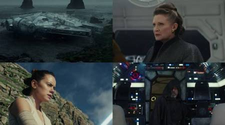 Watch Star Wars The Last Jedi teaser: Luke Skywalker has stepped back into the Millennium Falcon and it's all kinds of epic