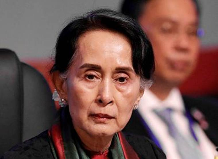 UN Chief, UN chief Antonio Guterres, Aung San Suu Kyi, Myanmar leader Aung San Suu Kyi, Rohingya refugees, Rohingya refugee crisis, world news, latest world news, indian express, indian express news