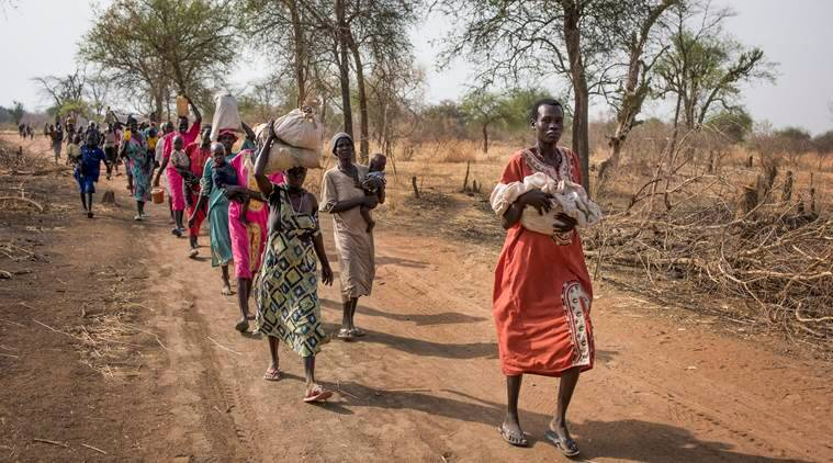 South Sudan, South Sudan situation, south sudan starvation, south sudan war, south sudan terrorism, al-Shabaab, UN on South Sudan, UN funds to South Sudan, UN aid to South Sudan, world news, indian express news