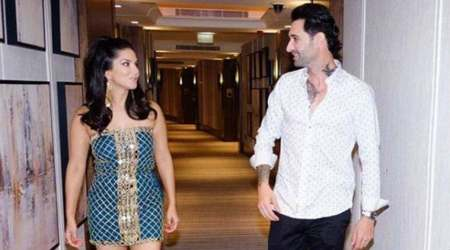 Sunny Leone calls husband Daniel 'the real pillar' of her life