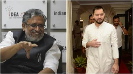 Sushil Kumar Modi, Tejashwi Yadav trade barbs in Bihar Assembly