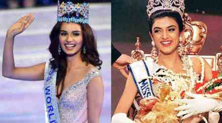 Birthday girl Sushmita Sen to Miss World 2017 Manushi Chhillar: You are born for greatness