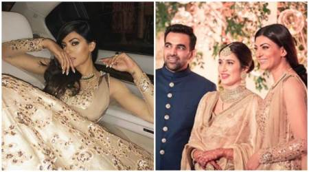 Sushmita Sen and Ritik Bhasin set tongues wagging at Sagarika Ghatge-Zaheer Khan's wedding reception