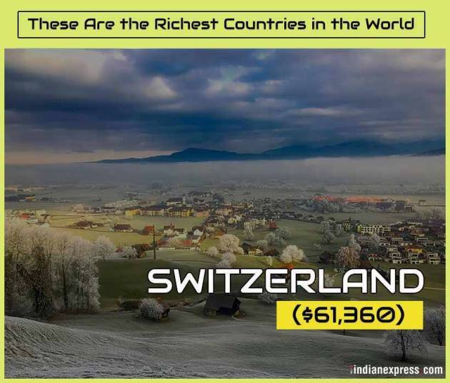 richest countries, world's richest countries, wealthiest nations, per capita wealth, indian express
