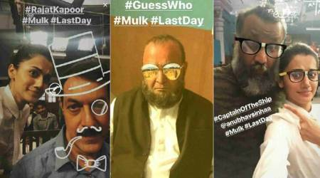 Taapsee Pannu calls Mulk a 'passion driven project', shares fun photos from last day