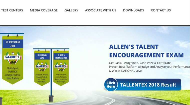 Tallentex 2018 results declared by Allen Career Institute at