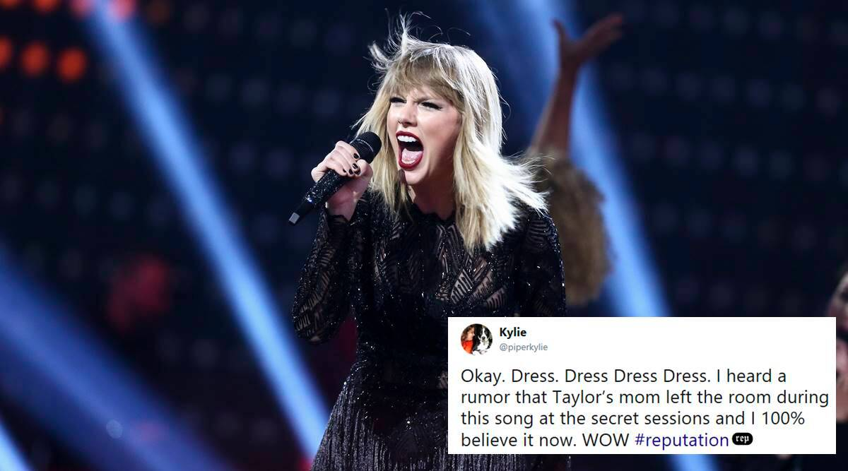 Taylor Swift S New Song Dress Is Making Twitterati Jump Out Of Their Skin Trending News The Indian Express
