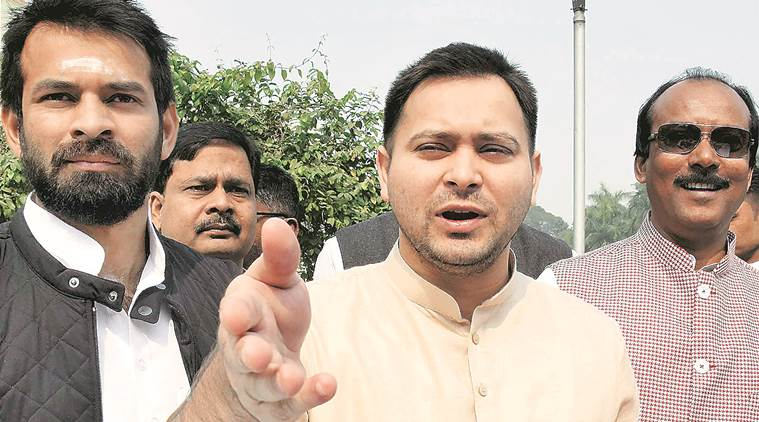 Tejashwi Yadav said his father had been the BJP's biggest opponent.