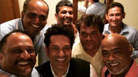Sachin Tendulkar posts image with Vinod Kambli, Ajit Agarkar and other 'friends for life'