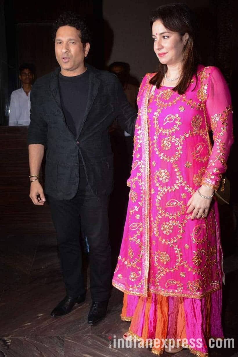 Zaheer Khan wedding Sachin Tendulkar