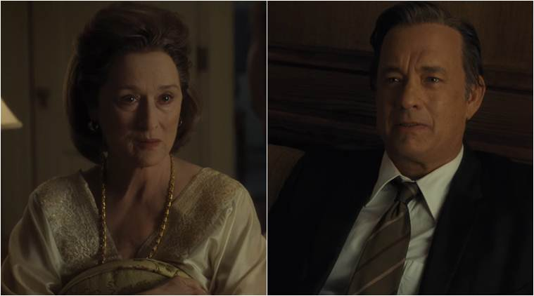 the post, meryl streep, tom hanks
