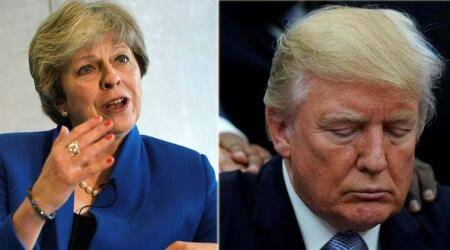 Amid spat with Theresa May, Donald Trump to visit UK on February 2018