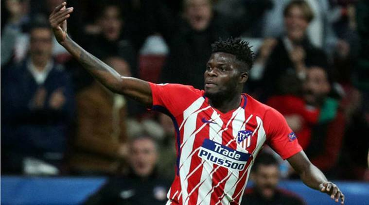 Thomas Partey, Atletico Madrid, Atletico Madrid vs Deportivo La Coruna, La Liga, Football news, Indian Express