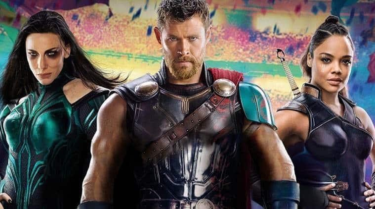 Chris Hemsworth in Thor Ragnarok photos
