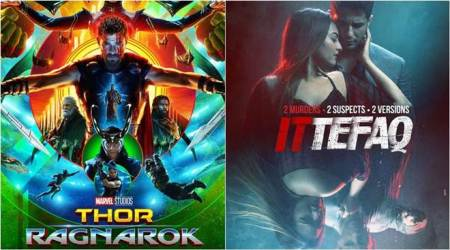 thor, thor ragnarok, ittefaq, sidharth malhotra, sonakshi sinha, thor box office, ittefaq box office