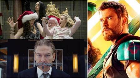 Thor: Ragnarok tops A Bad Moms Christmas, Murder on the Orient Express at boxoffice