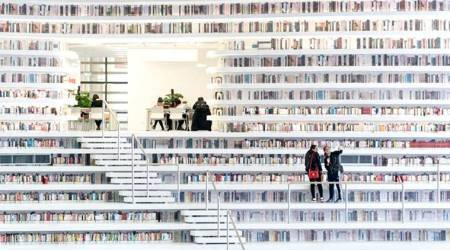 Remember the VIRAL PHOTOS of the China library we LOVED? Many of those books are FAKE!