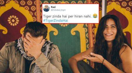 Salman Khan, Tiger Zinda Hai, Tiger zinda hai trailer, salman khan katrina kaif, tiger zinda hai trailer youtube, Ek Tha Tiger, Katrina Kaif, Salman Khan movies, Salman Khan hits, Tiger Zinda Hai twitter reactions, Tiger Zinda Hai twitter, Salman Khan tiger movie, Salman Khan songs, tiger zinda hai twitter reactions, Katrina Kaif movies, Katrina Kaif tiger sequel, Katrina Kaif songs, Bollywood, indian express, indian express news