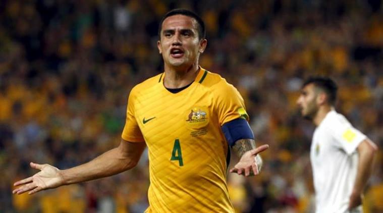 Tim Cahill, Tim Cahill Australia, Australian football team, Australia vs Honduras, sports news, football, Indian Express