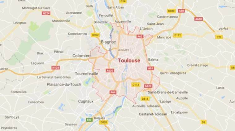Vehicle plows into crowd near Toulouse