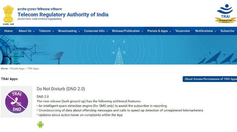 Apple anti-spam app, TRAI Apple spam app plea, Indian iPhone users, Apple iOS apps, spam messages and calls, TRAI Do Not Disturb app Android, Indian smartphone market, Google