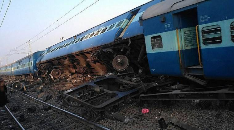 Union Railway Minister Piyush Goyal announced an ex-gratia compensation of Rs 5 lakh each to kin of dead in the accident, Rs 1 lakh for those with grevious injuries and Rs 50,000 for those injured.
