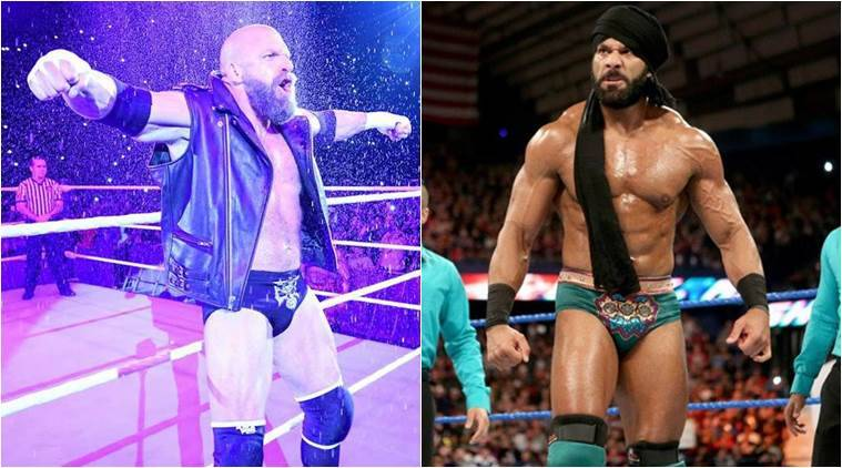 triple h and jinder mahal to fight in new delhi