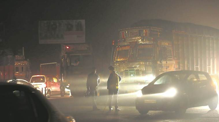 uttar pradesh, fog, smog, fog related accident, up roadways, visibility, indian express