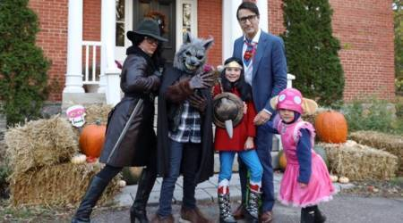 Justin Trudeau does it again, dresses up as this geeky superhero for Halloween