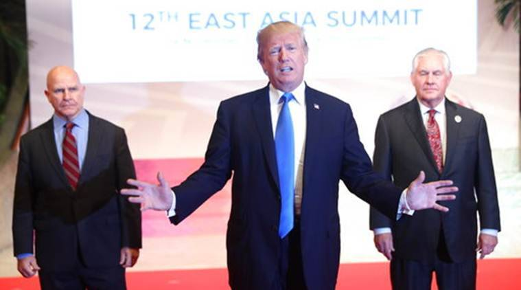 Asia trip, Donald Trump, US President Donald Trump, Trump Asia Trip, ASEAN, ASEAN Summit, World News, Latest World News, Indian Express, Indian Express News