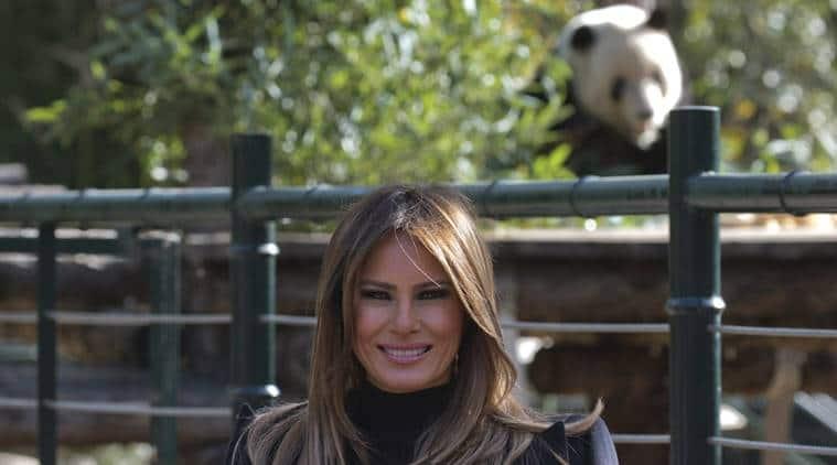 melania trump, melania trump surgery, melania kidney surgery, donald trump wife, us first lady, world news, indian express