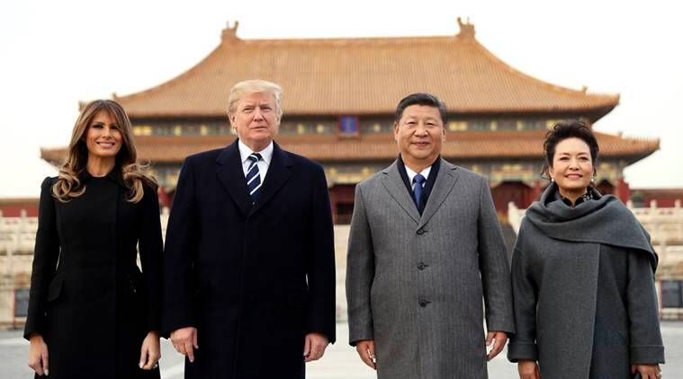 Donald Trump, Southeast Asia, China, Xi Jinping, Trump China tour, Trump Asia visit, US china relations, China in Asia, indian express, world news