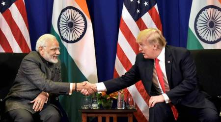 India US dialogue, India-US 2+2 dialogue, 2+2, India US 2+2, India US talks, What is 2+2 dialogue, Narendra Modi, Donald trump, Jim mattis, Mike Pompeo, Sushma Swaraj, Nirmala Sitharaman, Indian Express