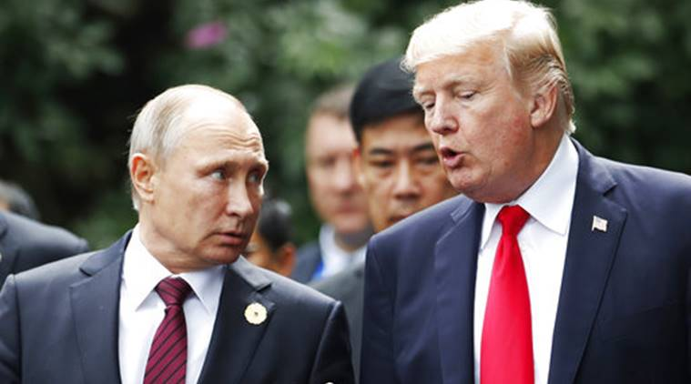 Trump defends Putin summit, blames 'Fake News' for derision