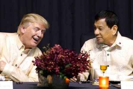 'You are the light'- Philippines' Rodrigo Duterte croons at Donald Trump's request