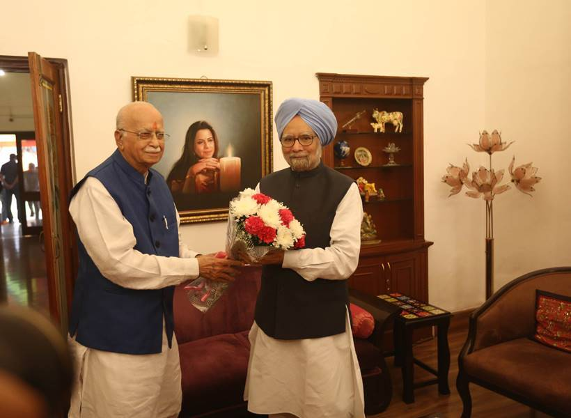 LK Advani turns 90 today, will celebrate birthday with visually challenged kids