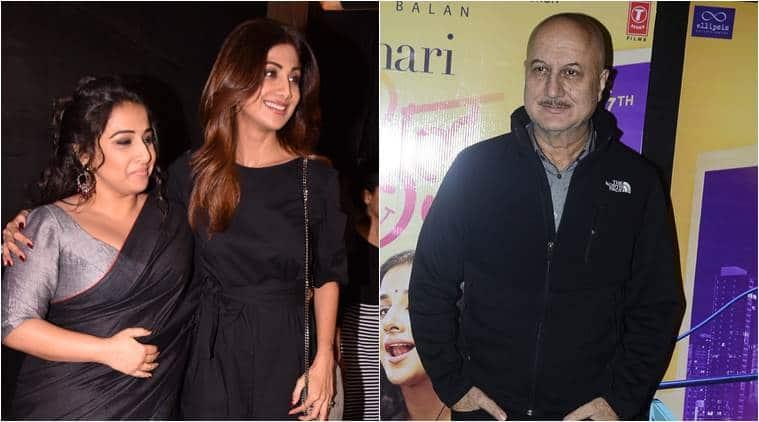 Vidya Balan's tumhari sulu celebrity review