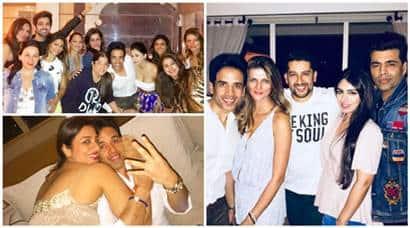 Tusshar Kapoor birthday inside photos