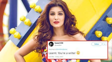Twinkle Khanna's 'gyaan' to troll who tried to give her GRAMMAR lessons is SAVAGE!