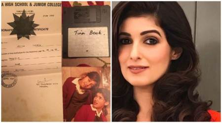Twinkle Khanna shares some childhood treasures revealing that she was a studious kid, see photo
