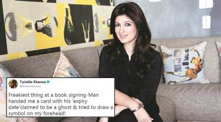 SCARY! Twinkle Khanna shared her 'freaky' GHOST encounter; Twitterati came up with BIZARRE solutions
