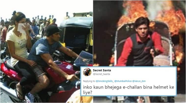 Mumbai police, Varun Dhawan, breaking traffic rules, varun dhawan breaks traffic rule,