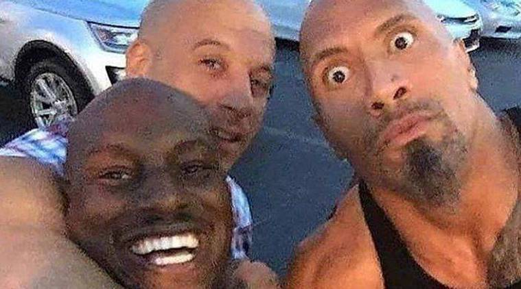 Photo Tyrese Gibson Threatens To Quit Fast And Furious 9 If Dwayne Johnson Is Cast Entertainment News The Indian Express