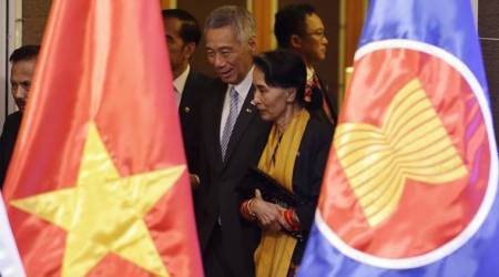 UN chief raises alarm over Rohingya in speech before Myanmar's Suu Kyi